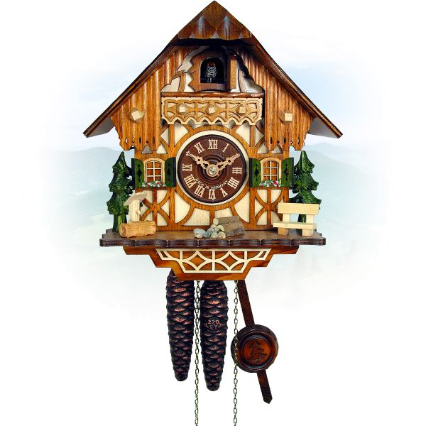 Cuckoo Clock Laval, August Schwer: small Black Forest House