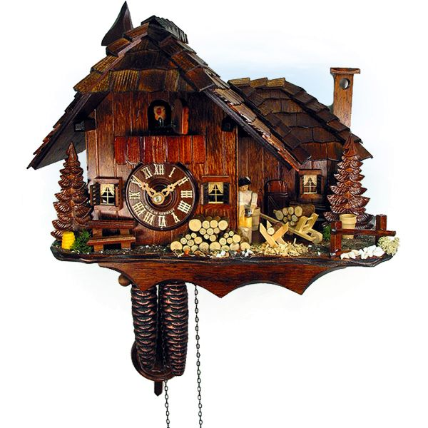 Cuckoo Clock Greater Sudbury, August Schwer: small luxus mill