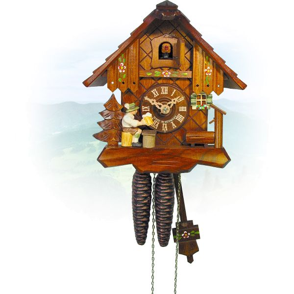 Cuckoo Clock London, August Schwer: house, beerdrinker