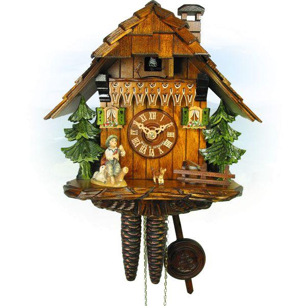 Cuckoo Clock Saskatoon, August Schwer: house with goatherd