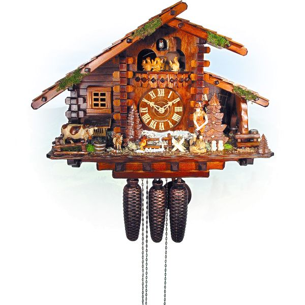 Cuckoo Clock Melbourne, August Schwer: hunting house, farm house
