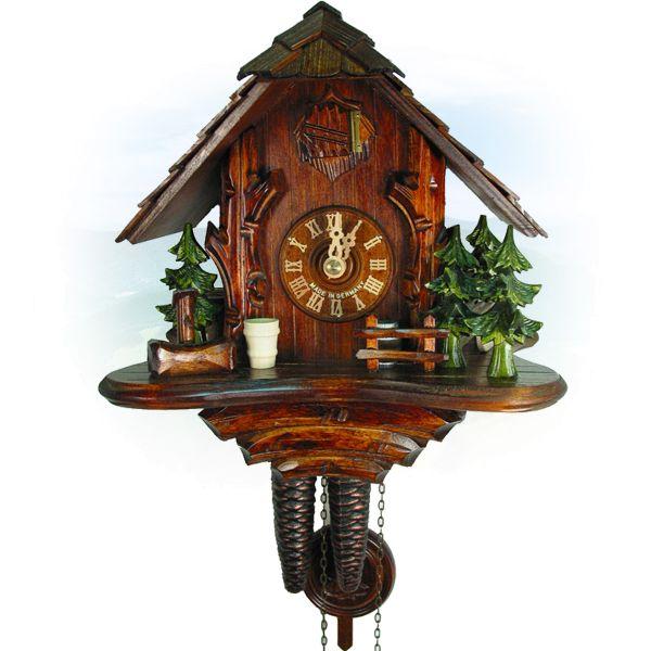 Cuckoo Clock Burnaby, August Schwer: forest hut