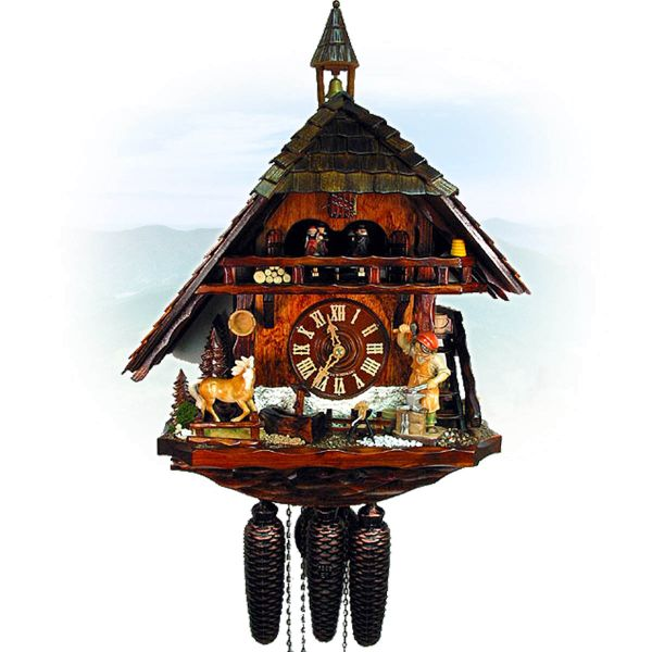 Cuckoo Clock USA, August Schwer: old smithy