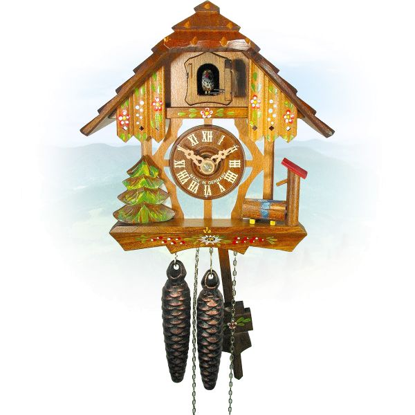 Cuckoo Clock Chula Vista, August Schwer: half timbered house