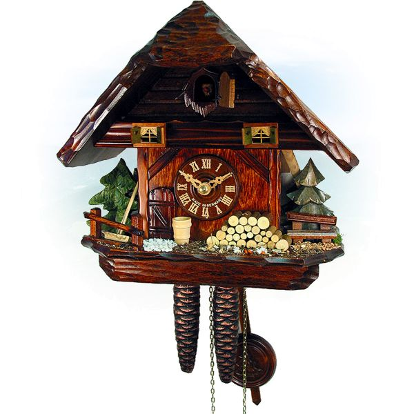 Cuckoo Clock Quebec, August Schwer: small Black Forest House