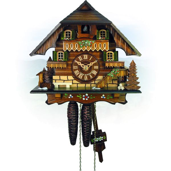 Cuckoo Clock Markham, August Schwer: small Black Forest House