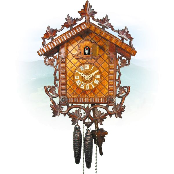 Cuckoo Clock Fort Wayne, August Schwer: Railway Station
