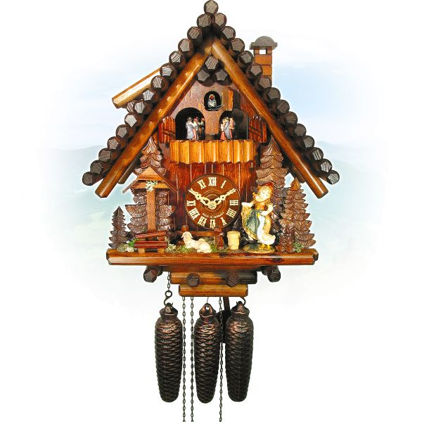 Cuckoo Clock Nantes, August Schwer: Ferndobel, sheeps-mary