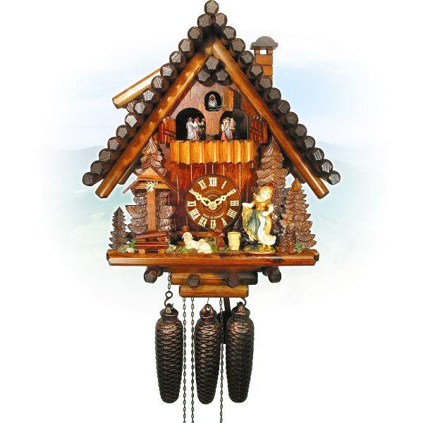 Cuckoo Clock Nantes, August Schwer: Ferndobel, sheeps-mary