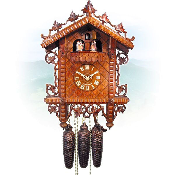 Cuckoo Clock Jakarta, August Schwer: Railway Station 1885