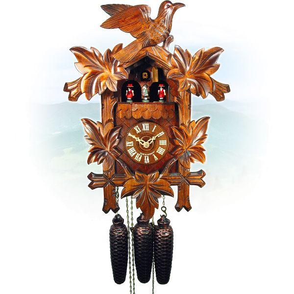 Cuckoo Clock Taranto, August Schwer: 5-leaves, 1-bird