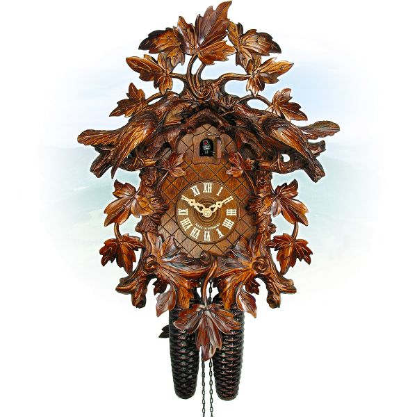 Cuckoo Clock Málaga, August Schwer: 15-leaves, 2 birds