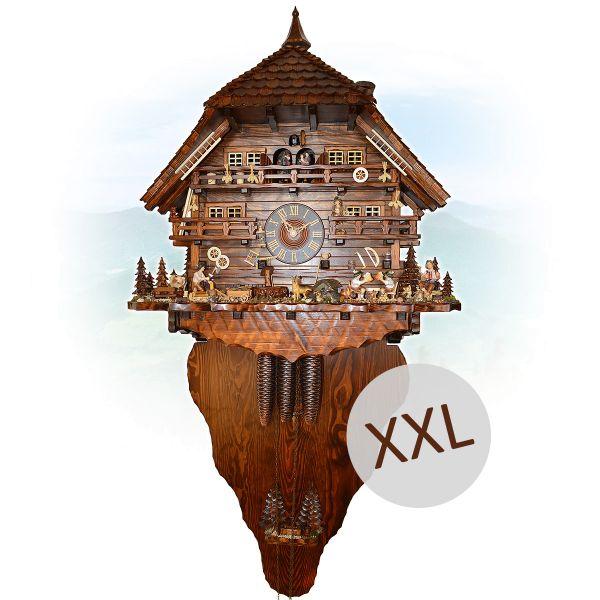 Cuckoo Clock Norway, August Schwer: swiss house