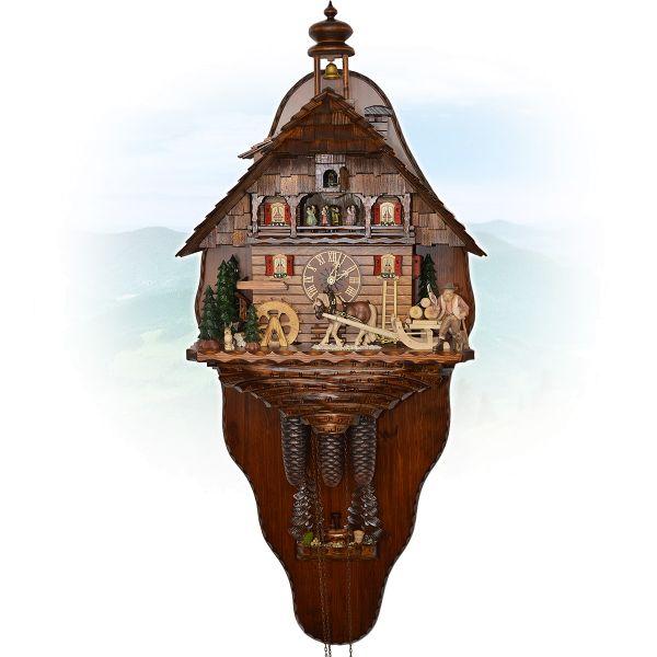 Cuckoo Clock Manchester, August Schwer: Chalet old barn