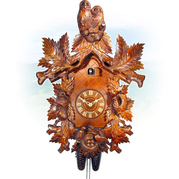 Cuckoo Clock Madrid, August Schwer: Uhu, fernleaves
