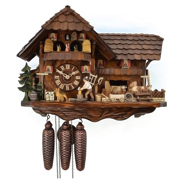 Cuckoo Clock Japan, August Schwer: mill