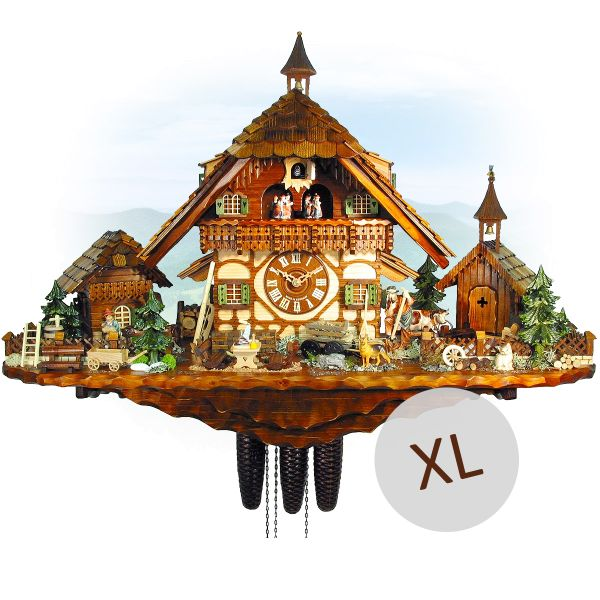 Cuckoo Clock Kiew, August Schwer: Geissenpeter, VDS winner clock 2009