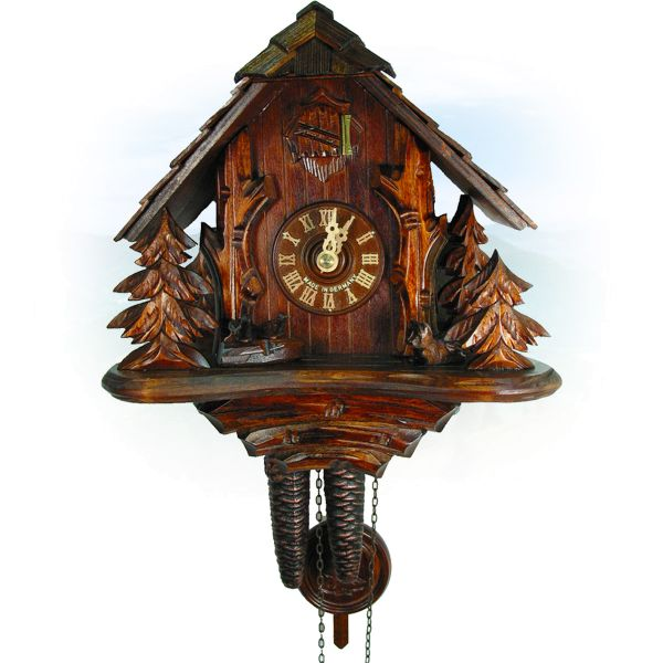Cuckoo Clock Longueuil, August Schwer: forest hut
