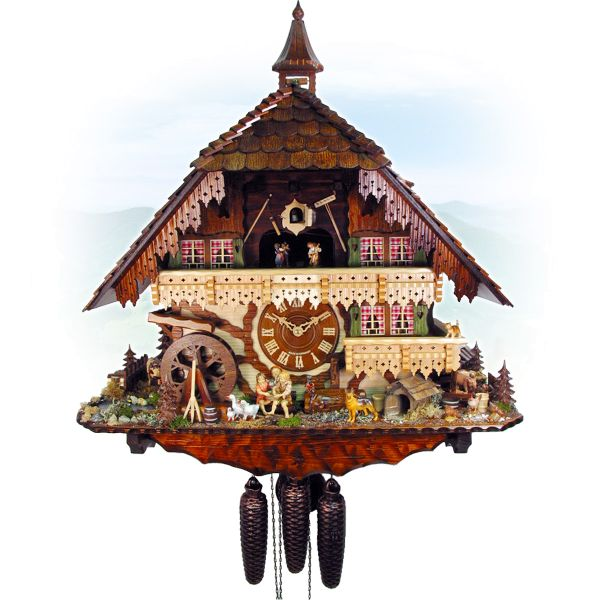 Cuckoo Clock Helsinki, August Schwer: Gutachmill, VDS winner clock