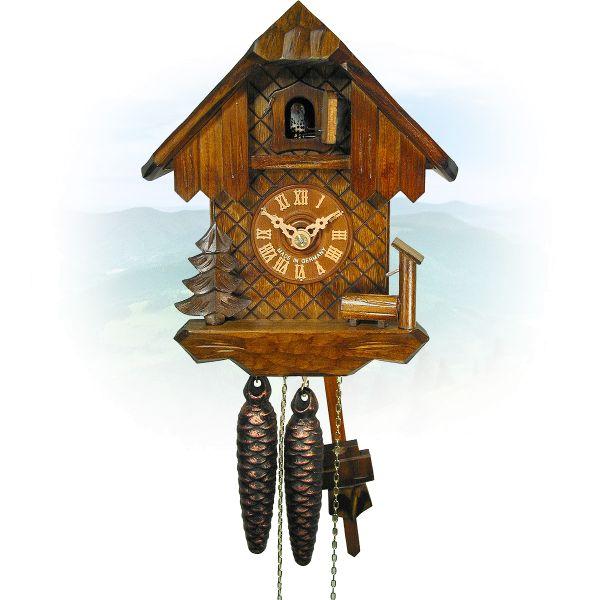 Cuckoo Clock Orlando, August Schwer: house, trough, tree