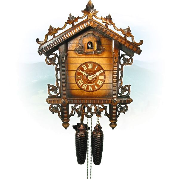 Cuckoo Clock Neuss, August Schwer: Railway Station