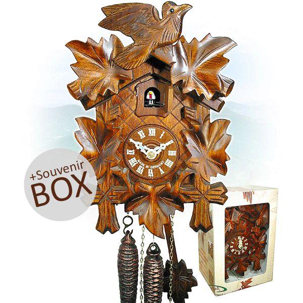 August Schwer cuckoo clock gift in souvenir box